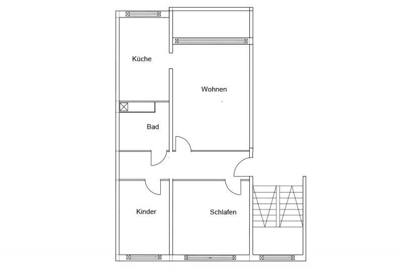 3 raum wohnung rostock schmarl mietwohnungen rostock. Black Bedroom Furniture Sets. Home Design Ideas
